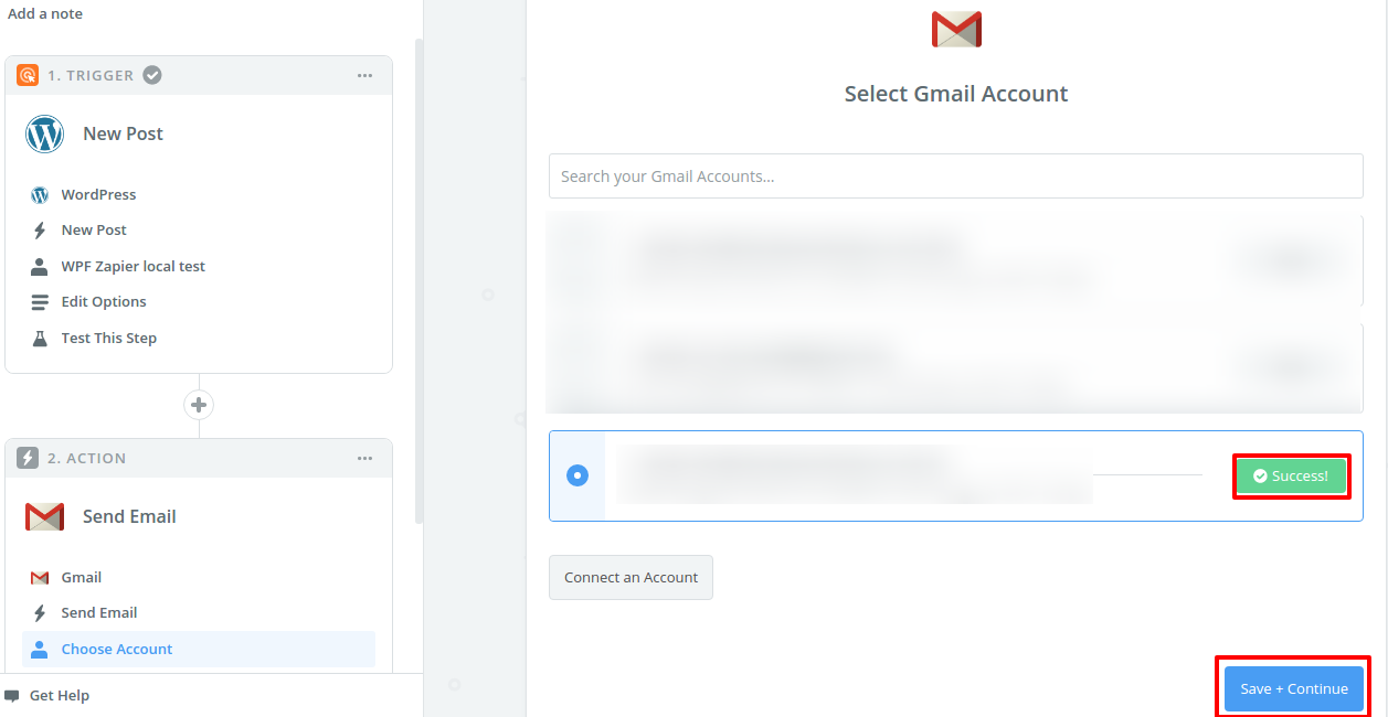 Step 11 Select Gmail Account