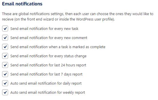 email settings wpf