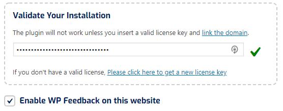 validate install
