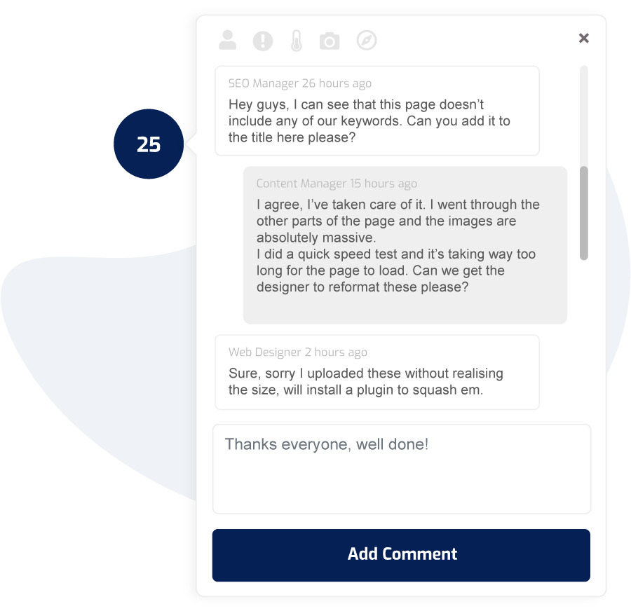 WP Feedback - Getting straight to the point, visually 3