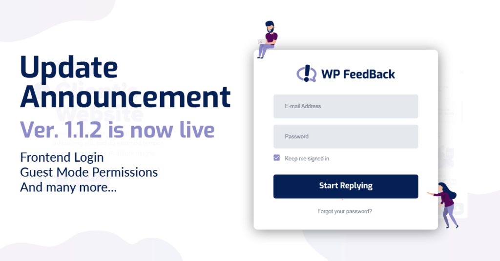 WP FeedBack 1.1.2 - Frontend Login + Guest Mode Permissions 2