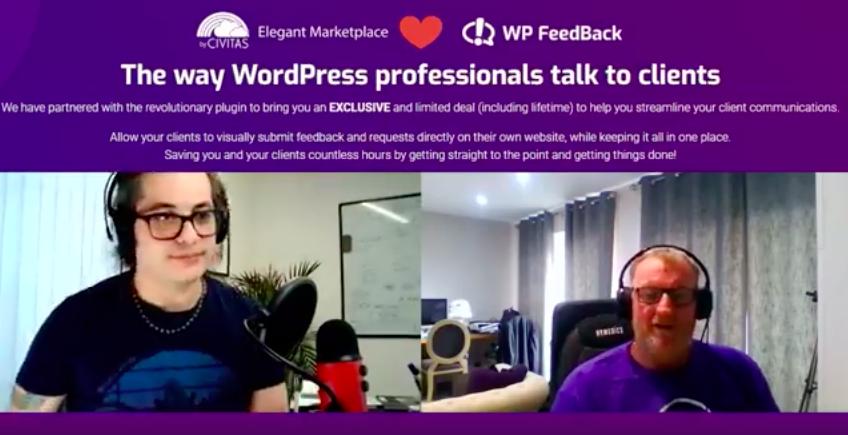 WP FeedBack Teams Up with Elegant Marketplace 2