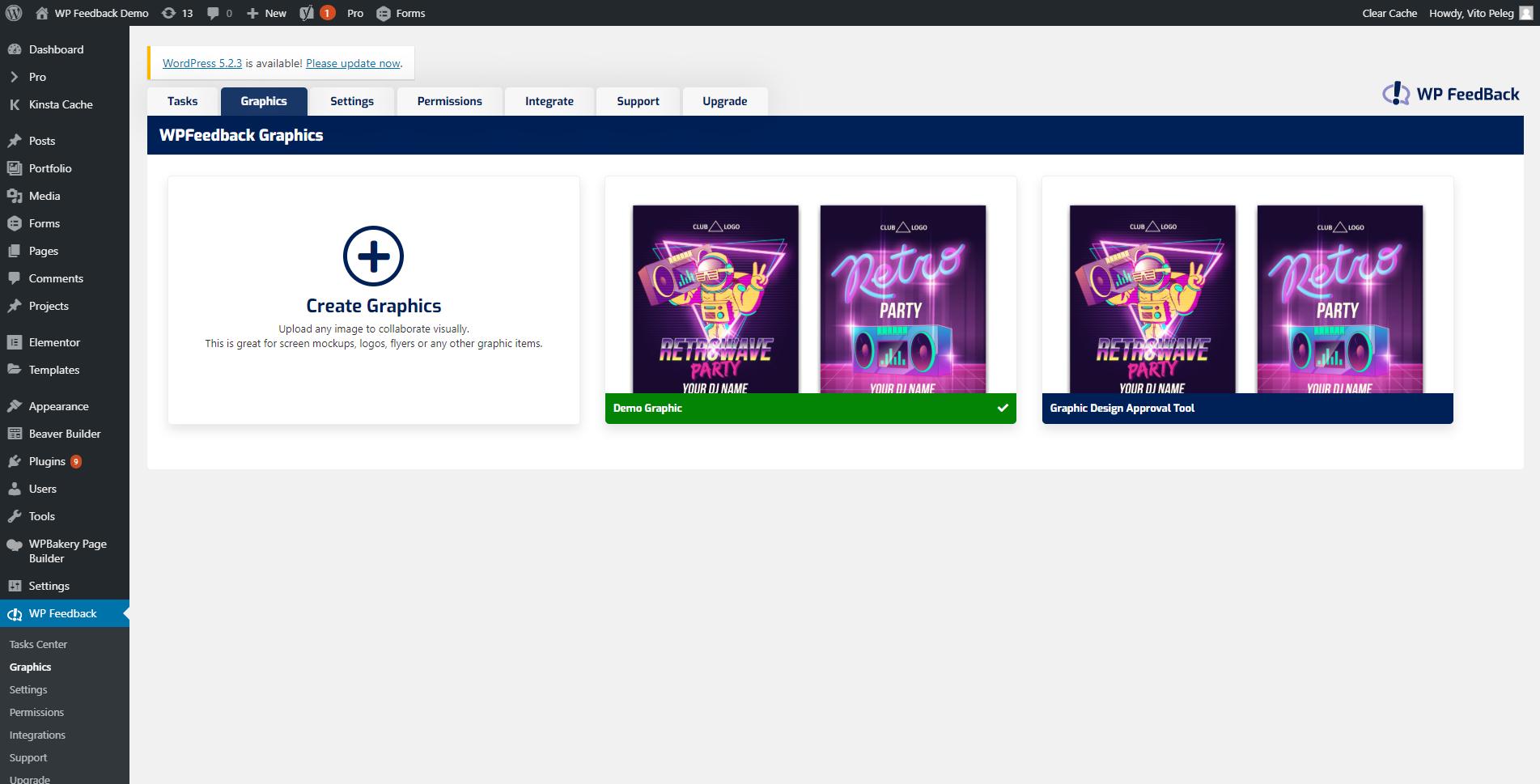 screenshot demo.wpfeedback.co 2019.10.03 14 58 51