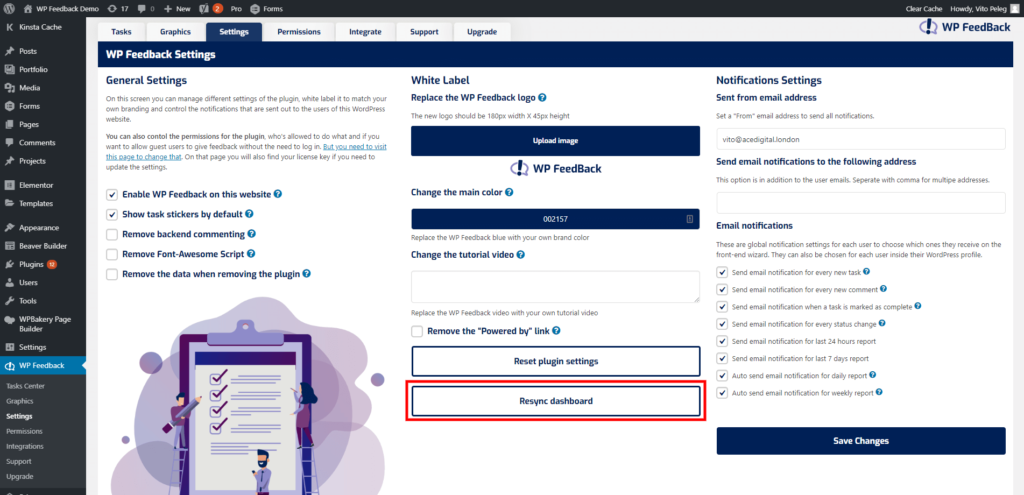 WP FeedBack 1.1.7 – 1 Click Login 3