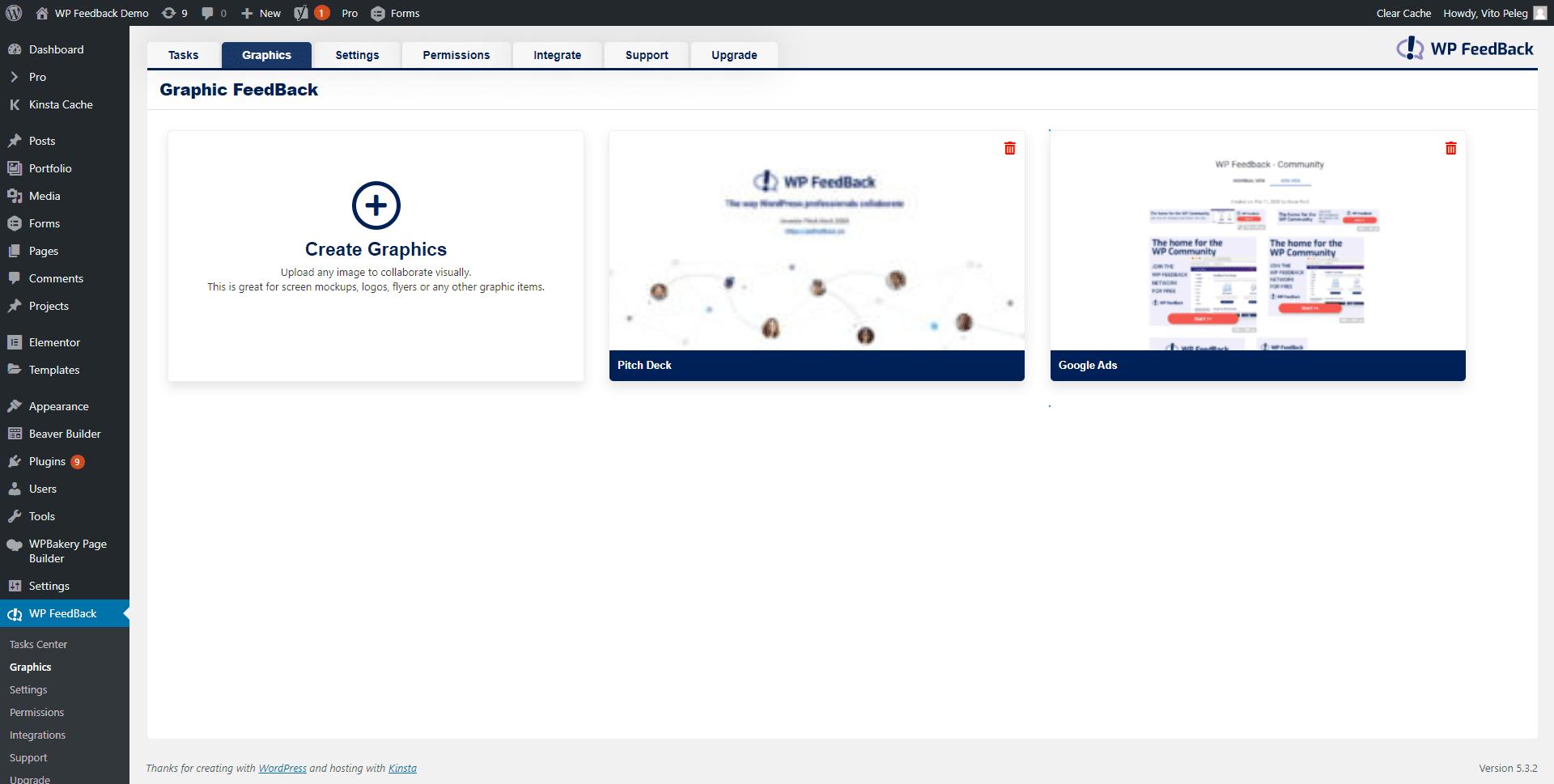 screenshot demo.wpfeedback.co 2020.02.21 14 39 07