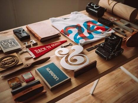 business branding items