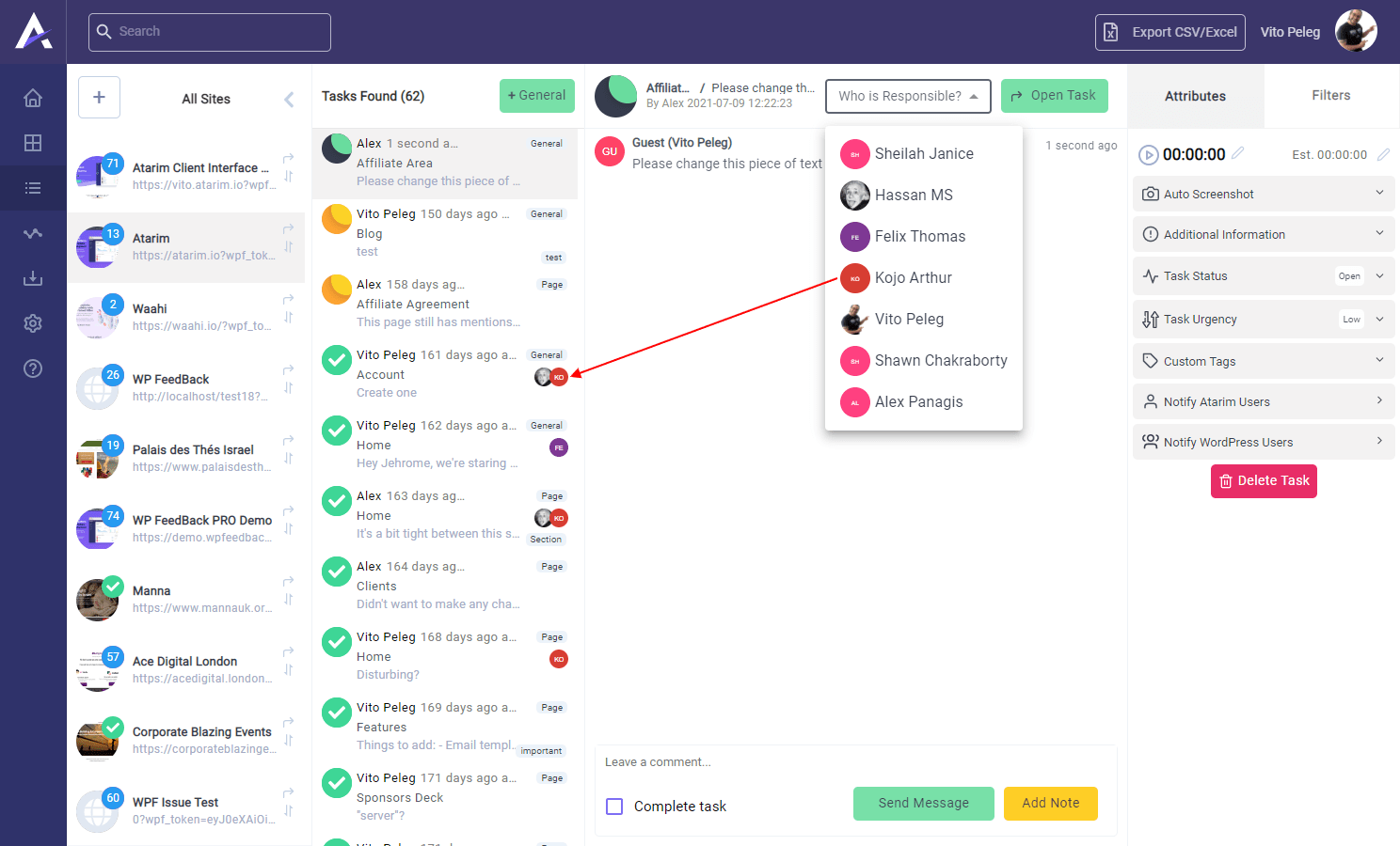 Ver 2.1.1 - Assigning Users, Exports, Size Reduction & More... 3