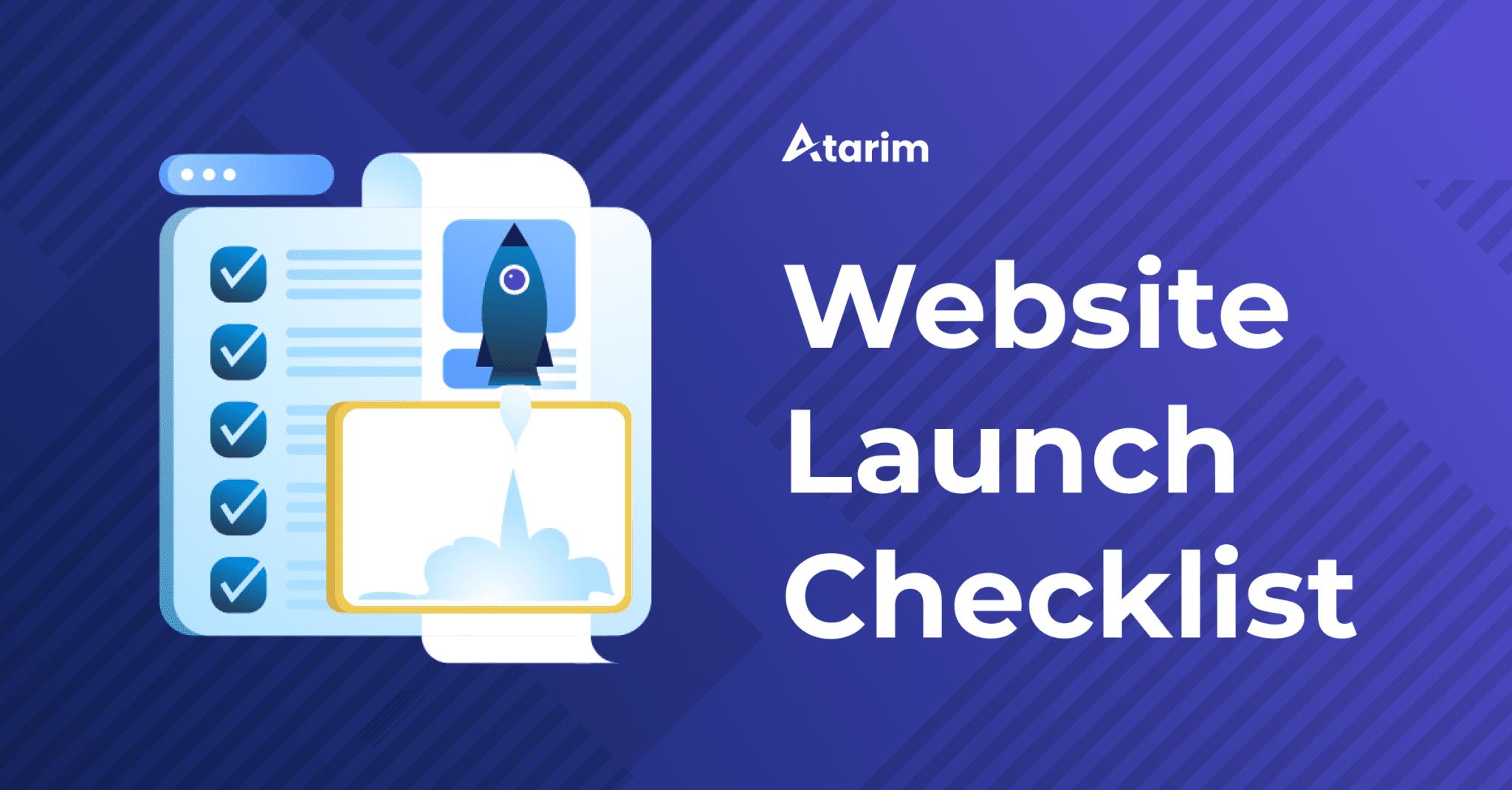 website-launch-checklist